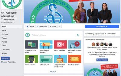 Like CAT Facebook page voor updates en live uitzendingen